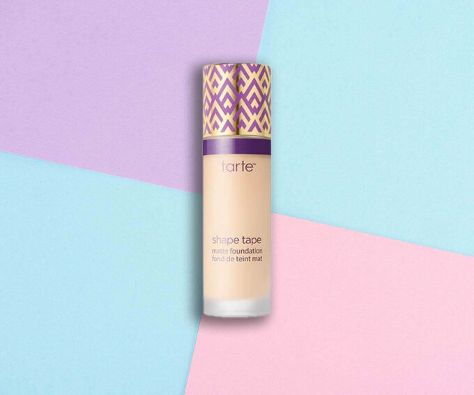 "Best for Oily Skin: ""Double Duty Beauty Shape Tape Matte Foundation"" from Tarte Cosmetics"