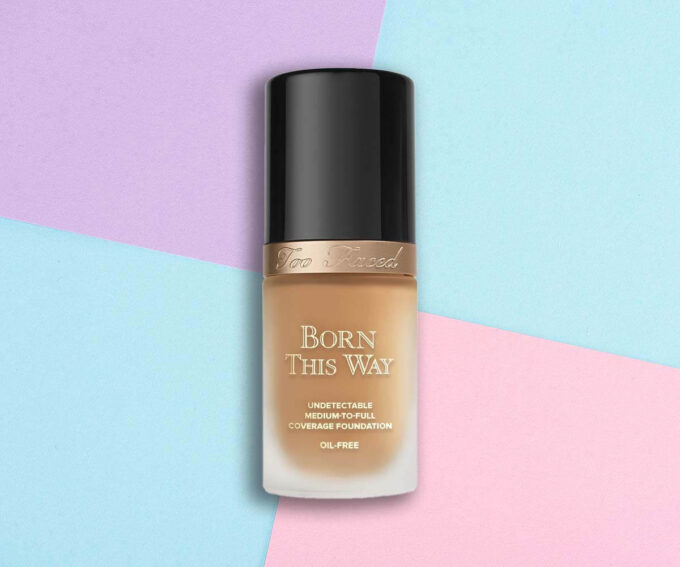 "Best Non-comedogenic Foundation: ""Born This Way Undetectable Medium-to-Full Coverage Foundation"" from Too Faced"