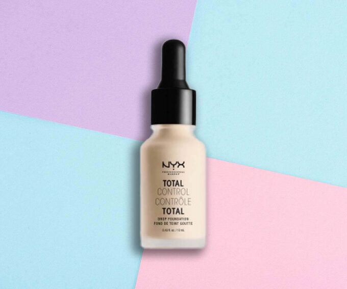"Best Value Foundation: ""Total Control Drop Foundation"" from NYX Cosmetics"