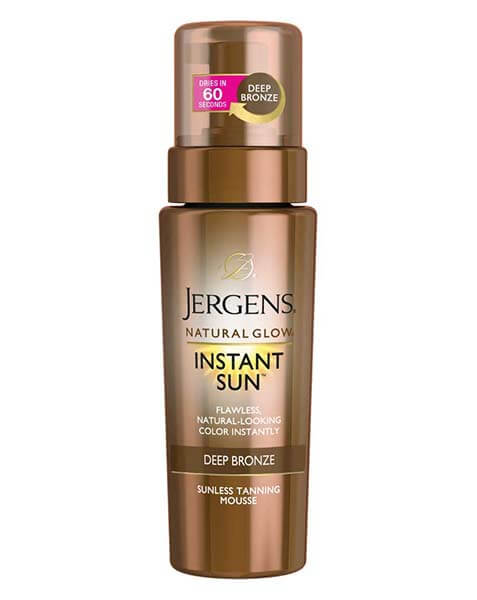 Jergens Natural Glow Instant Sun Body Mousse