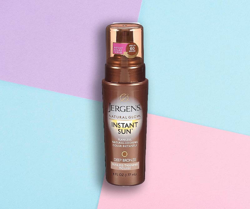 Jergens Natural Glow Instant Sun Mousse