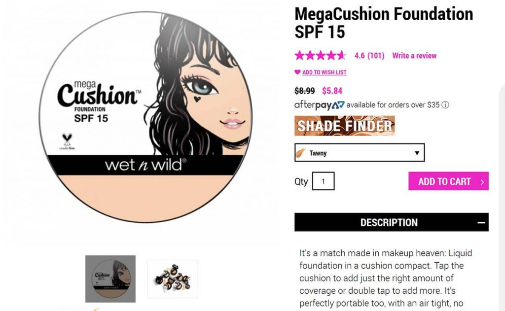 Wet n Wild MegaCushion